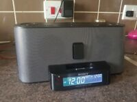 Sony ICF-C1iPMK2 Dream Machine Clock Radio ipod iphone 4 4s docking station, Excellent Condition