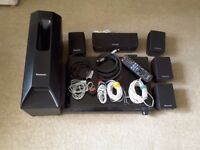 Panasonic 5.1 Home Theatre DVD Player and Sound System SC-PT470 Works perfectly excellent condition