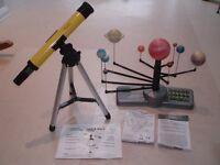 Telescope and Planetarium for Children