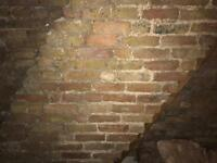 Reclaimed stock bricks