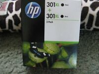 HP 301XL Twin Pack Black