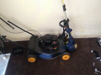 Petrol strimmer and lawnmower for sale