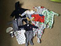 Newborn and 0-3 months baby bundle