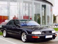 1993 AUDI V8 4.2 QUATTRO TYP 4C, 280 BHP 39k FRESH JAPANESE IMPORT VERY RARE CLASSIC LEFT HAND DRIVE