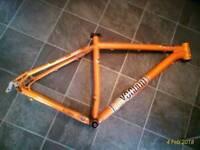"Voodoo aizan 20"" frame for 29"" wheels £20"