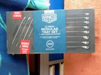 HALFORDS 12 PIECE COMBINATION METRIC SPANNER SET BRAND NEW. £40.00