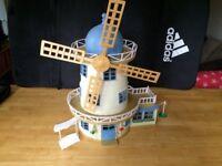 Sylvanian Family Bundle - Windmill, Boat, House, Bakery, Car, Bus, Ice Cream Van