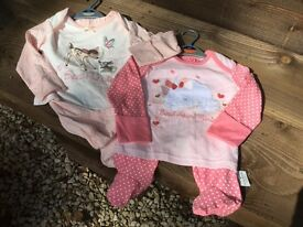 BNWT! BABY GIRLS SLEEPSUIT BUNDLE 12-18/18-24 Months.