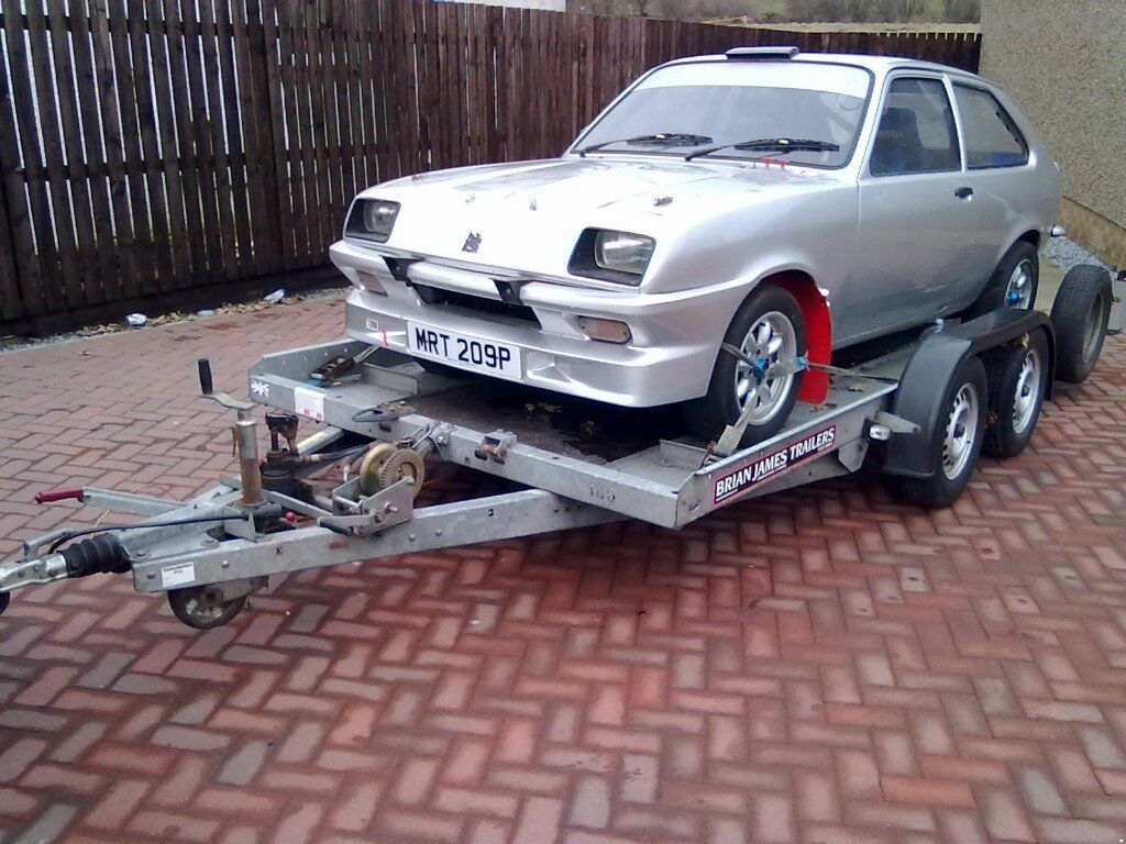 vauxhall chevette rally car / car trailer | in Saltcoats, North ...