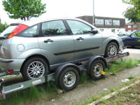 Brian James twin wheel A Series Car Transporter Trailer