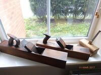 Vintage large woodworking tools planes