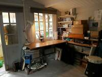 Artist craft persons work space. Nw10
