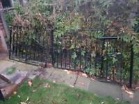 Wrought Iron Gates, Railings and Grab Rail