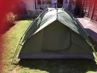 NEW TENT AND NEW COLMAN TARP
