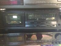 Aiwa cassette deck model ADF-370 (spares or repair)