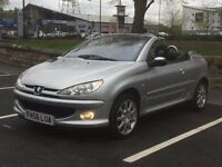 2007 Peugeot 206 cc 1.6 * Low mileage * Service history * Px welcome * delivery