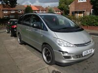2006 TOYOTA PREVIA DIESEL leather seats, sat nav, cruise control.