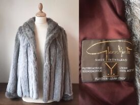 VINTAGE CLOTHING JOB LOT - 60+ pieces faux fur coat, jackets, dresses tops, accessories & more!
