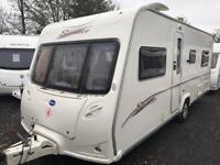 Bailey senator Indiana fixed bed 2007 with motor mover touring caravan