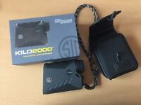 Sig Sauer Killo 2000 laser rangefinder for sale, only used once, non smoking home