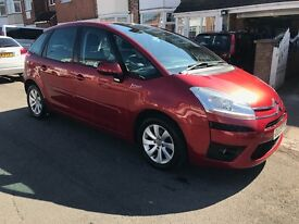 Citroen c4 Picasso automatic 1.6 diesel 12 months mot hpi clear 1 owner from new