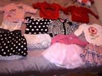 12-18+ baby girls clothes