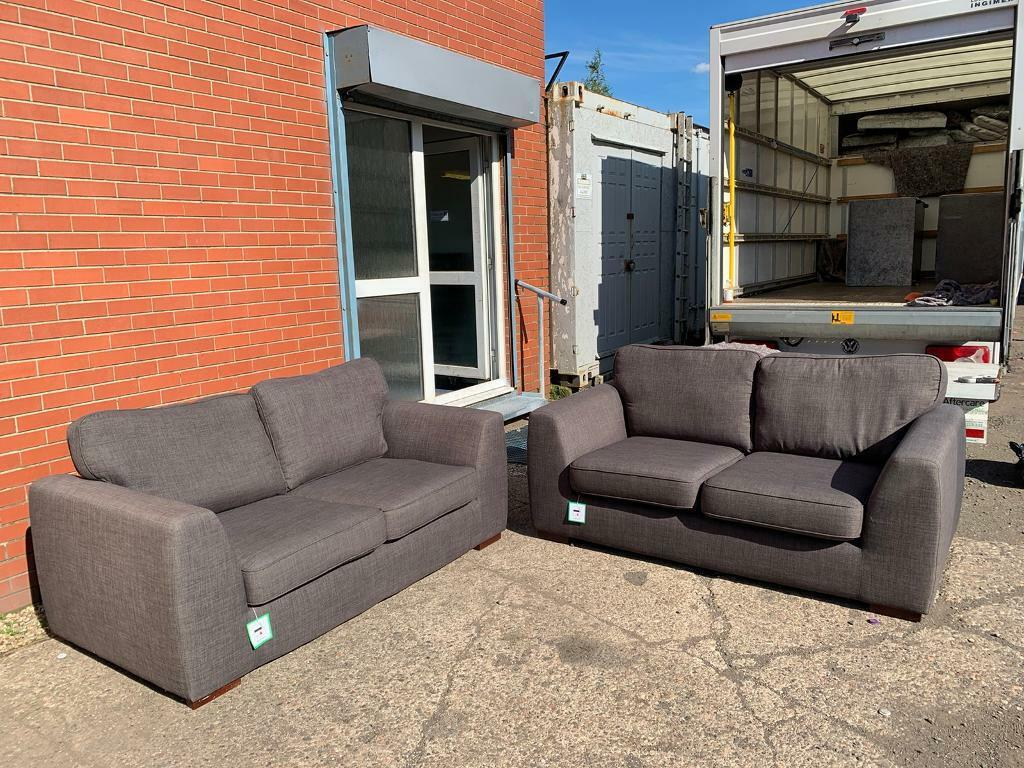 Grey Dfs Sofas Delivery Sofa Suite Couch Furniture In Giffnock Glasgow Gumtree