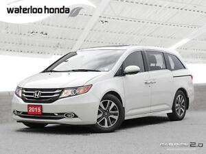 2015 Honda Odyssey Touring 160,000 km Honda Warranty! Navigat...