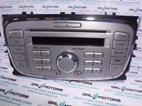 FORD GALAXY MK3 S-MAX MONDEO 2007-2010 RADIO CD 6000 CD KY09