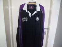 SCOTLAND RUGBY TOP, 1999 / 2000 SEASON BY COTTON OXFORD