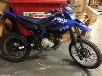 Yamaha wr 125 r wr125 wr125r not dt125 ktm 125cc 12months mot