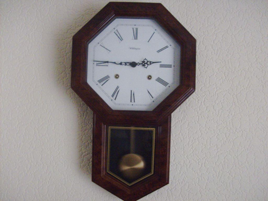 1 As New Wellington Quartz Pendulum Wall Clock For Sale In