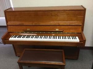 Hastings piano with humidity control system