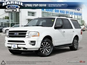 2017 Ford Expedition XLT 4X4 3.5L V6 - 8 Passenger!