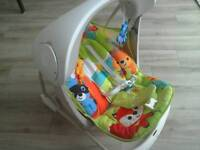 Fisher Price swing and seat