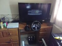 Only been used a few times great condition comes with shifter for Xbox one and pc