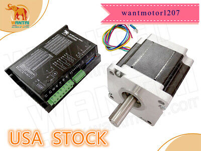 Usa Ship1axis Nema42 Stepper Motor 110bygh99-001 99mm 1800oz-in 5.5a Vacdriver
