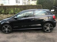 Volkswgen Polo 2010 1.2l Petrol 45k miles Black 3door and Proof of Full Service History