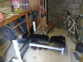 """Workout Bench """"York Barbell"""" Mint condition"""