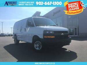 2018 Chevrolet Express LOW KMS, BACKUP CAMERA, VERY WELL MAINTAI