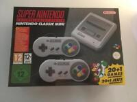 SNES Mini Console Brand New With Receipt