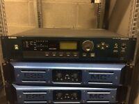Yamaha DME 24N Audio Processor, Matrix Mixer, Zone Controller