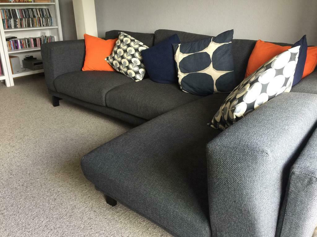 Awe Inspiring Ikea Nockeby Chaise Longue Sofa In Dark Grey In Nairn Highland Gumtree Inzonedesignstudio Interior Chair Design Inzonedesignstudiocom