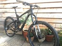 Marin Mount Vision XM9 Size XL - Full Suspension Carbon mountain bike, 150/140mm travel front/back