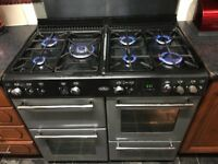 BELLING RANGE FULL GAS COOKER 100CM GREY