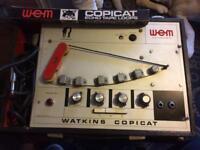 Vintage tape echo Watkins copy cat