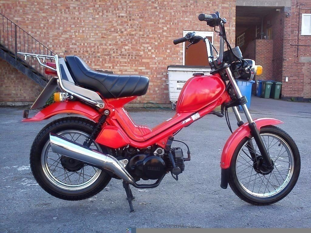 old yamaha mopeds 50cc bing images. Black Bedroom Furniture Sets. Home Design Ideas