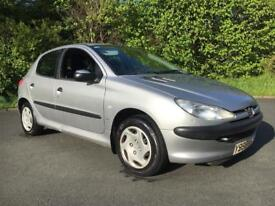 Peugeot 206 with 12 months mot