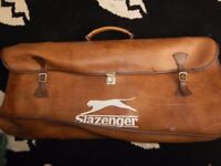 vintage 1960s slazenger sports bag