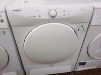 8KG HOOVER condenser dryer, excellent condition, 3 months warranty
